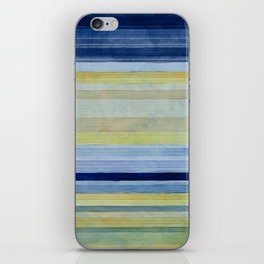 Colorbands Daylight Blue and Yellow iPhone Skin