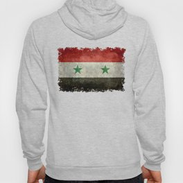 Syrian national flag, vintage Hoody