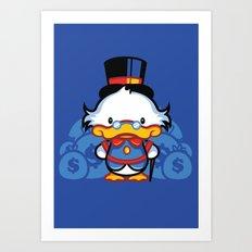 Hello Scroogie Art Print