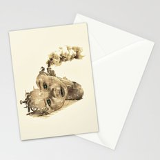 train of life Stationery Cards