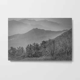 Busan Mountain View Metal Print