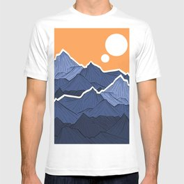 The mountains under the two suns T-shirt