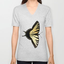 Swallowtail Butterfly in the Horicon Marsh Unisex V-Neck