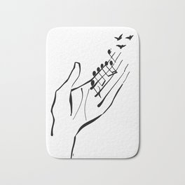 Sounds of nature Bath Mat