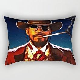 The D is Silent Rectangular Pillow