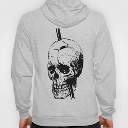 The Skull of Phineas Gage Vintage Illustration Hoody