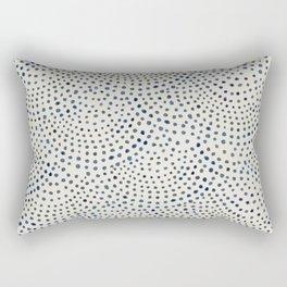 Circles I Rectangular Pillow