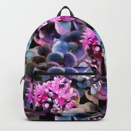 Succulent in Bloom - A Pattern Backpack