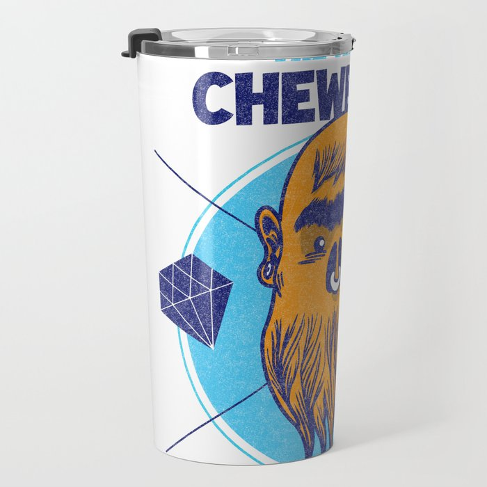 Hipster Chewie Travel Mug