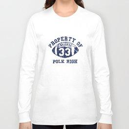 Polk High Al Married With Children Bundy School 33 Football T-Shirts Long Sleeve T-shirt