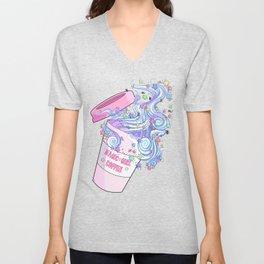 Magic Girl Coffee Unisex V-Neck
