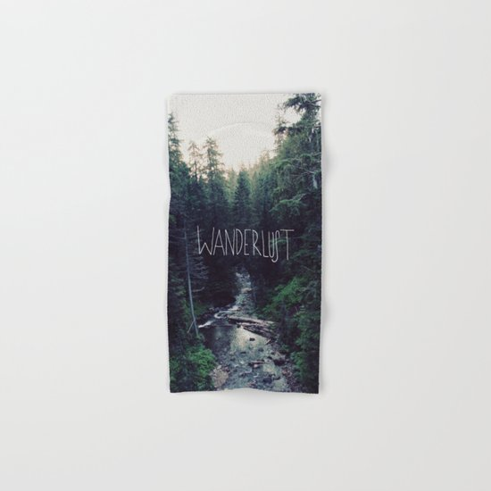 Wanderlust: Rainier Creek Hand & Bath Towel