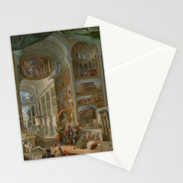 Ancient Rome by Giovanni Paolo Panini Stationery Cards