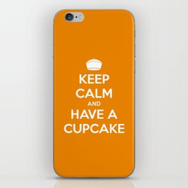 Keep Calm and Have A Cupcake iPhone Skin