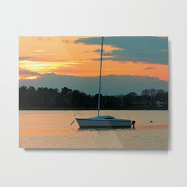 Shell Point Sunset Metal Print