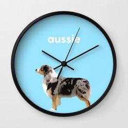 #Australian Shepherd #2 Wall Clock
