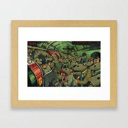 Tube Rats Framed Art Print