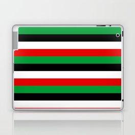 Kenya Jordan Iraq Kuwait flag stripes Laptop & iPad Skin