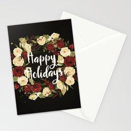 Happy Holidays 4 Stationery Cards