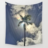 palm Wall Tapestries featuring Palm by Karli Henneman