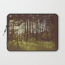 Summer Forest Sunlight - Nature Photography Laptop Sleeve