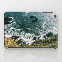 big sur iPad Cases featuring Kirk Creek, Big Sur by GBret
