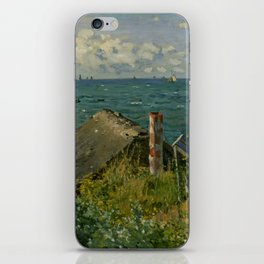 "Claude Monet ""La Cabane de Saint-Adresse"" iPhone Skin"