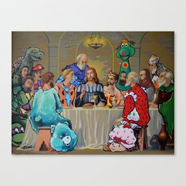 The Last ComicCon Canvas Print