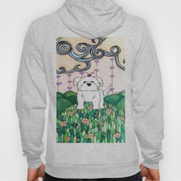 Cameo the Dog on a Hill Hoody