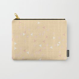 Pinkish_Papaya_Triangles Carry-All Pouch