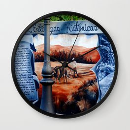 History on the wall @ Rincon Wall Clock