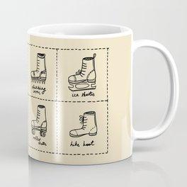 Sport shoes doodles Coffee Mug