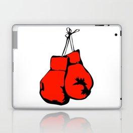 Hanging Boxing Gloves Laptop & iPad Skin