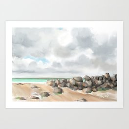 St Ives Cornwall Art Print