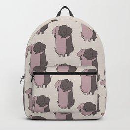 Dachshund Hugs Backpack