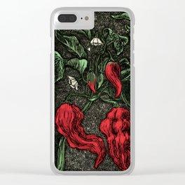 HOT PEPPER Clear iPhone Case