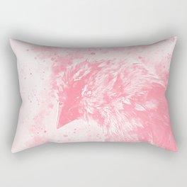 spotted madagascar fody wspw Rectangular Pillow