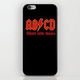 ABC, a heavy metal parody iPhone Skin