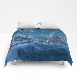 Winter Night  XL Comforters