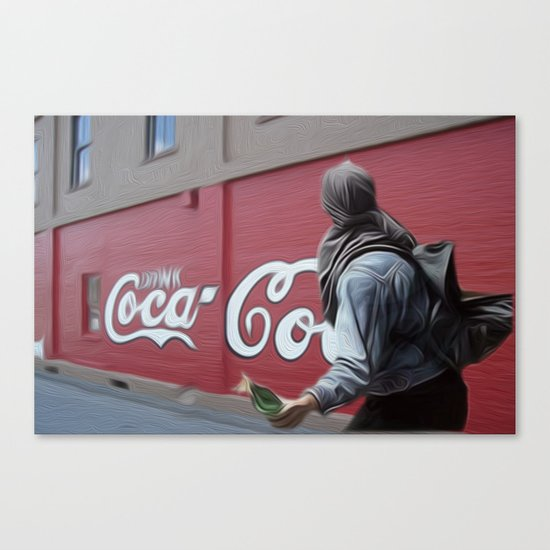 Coca Cola Wars Canvas Print