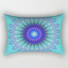 Frozen mandala Rectangular Pillow