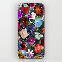 Flowering Fence iPhone Skin