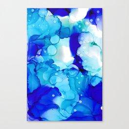 Blue Aqua Canvas Print