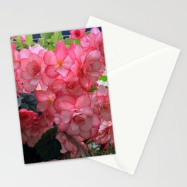 Pink flower in Butchart's garden Stationery Cards