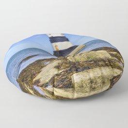 Penmon Lighthouse Floor Pillow