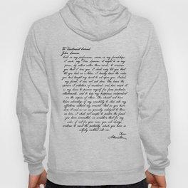 Alexander Hamilton Letter to John Laurens Hoody