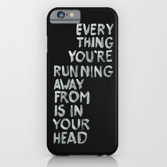 In your head iPhone & iPod Case