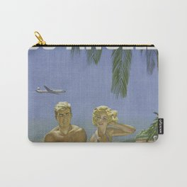 Summer Couple Carry-All Pouch