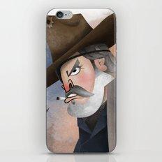Rooster Cogburn iPhone Skin