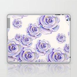 Puple Rose Painting Laptop & iPad Skin